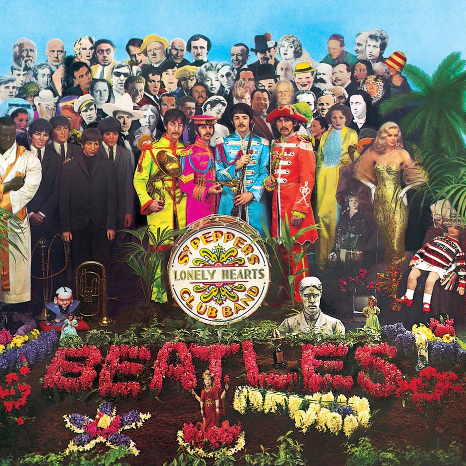 Peter Blake's album sleeve for Sgt. Pepper's Lonely Hearts Club Band
