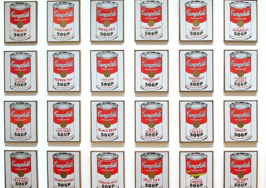Andy Warhol's Campbell's Soup Cans