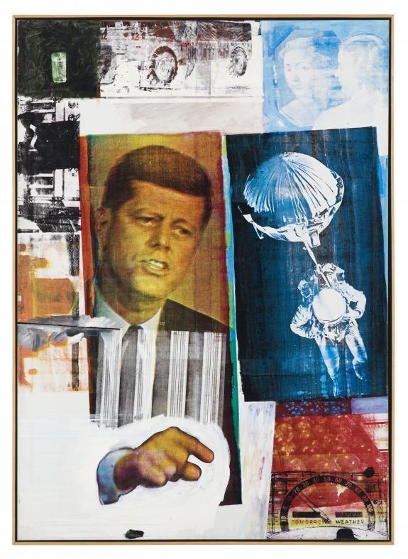 Robert Rauschenberg's Retroactive II