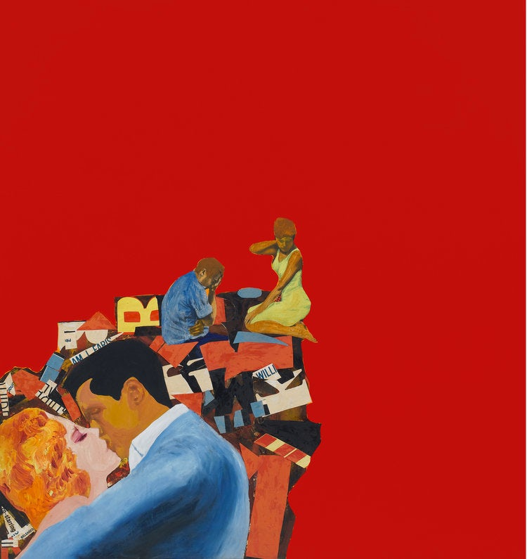 Rosalyn Drexler's Lovers