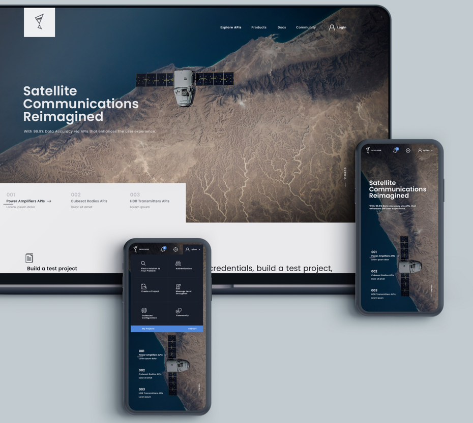 web design for desktop and mobile
