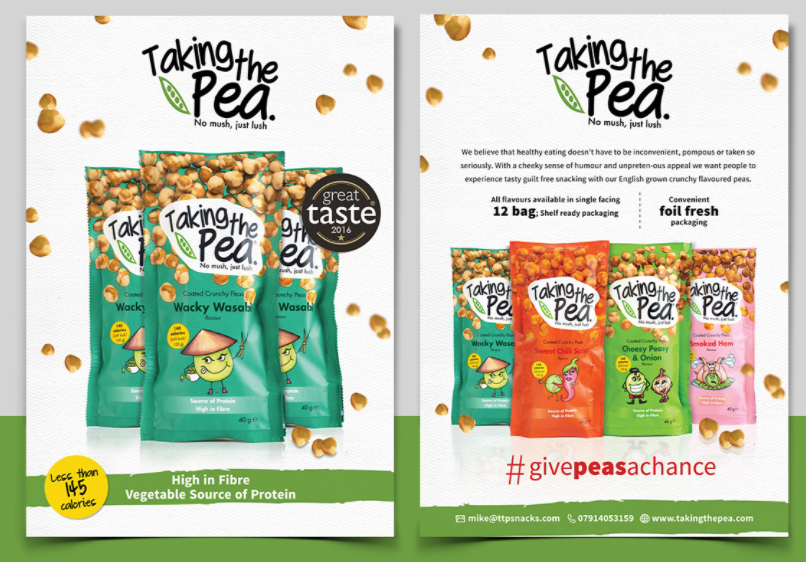 Taking the pea snack brand