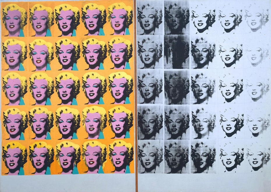 Andy Warhol's Marilyn Diptych