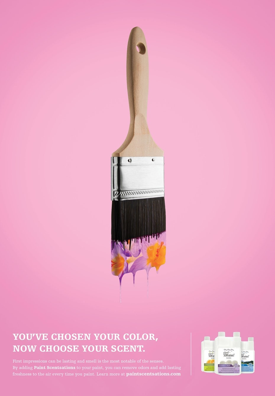 Paint additive print ad