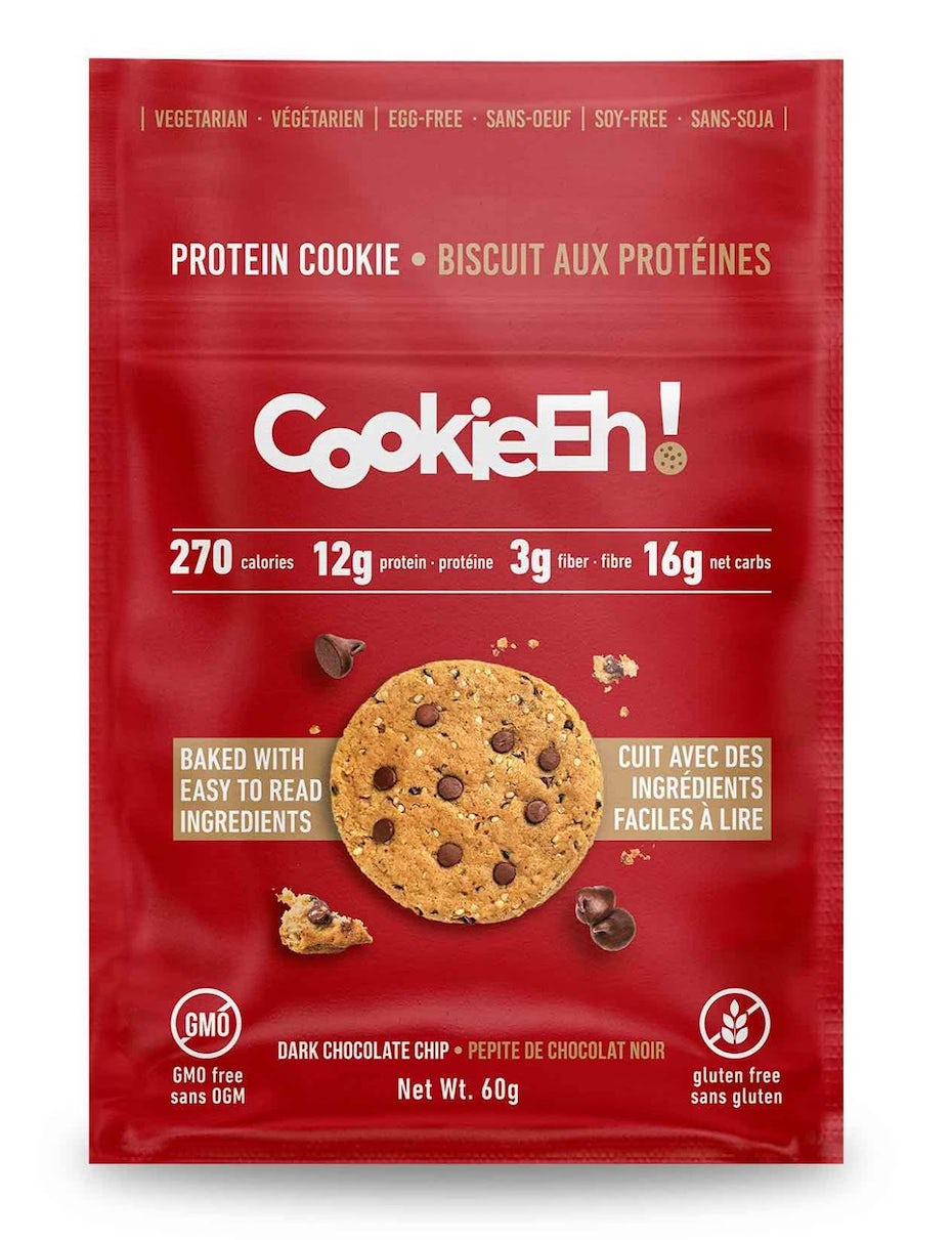Cookies in a red bag