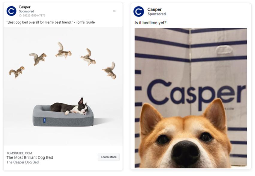 Casper ads