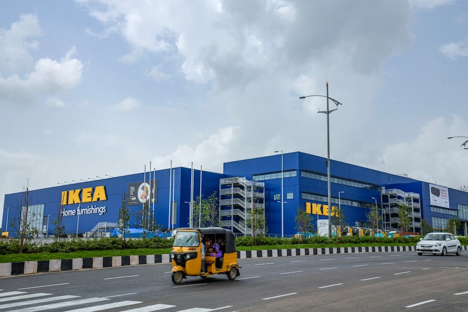 photo of IKEA store in Hyderabad