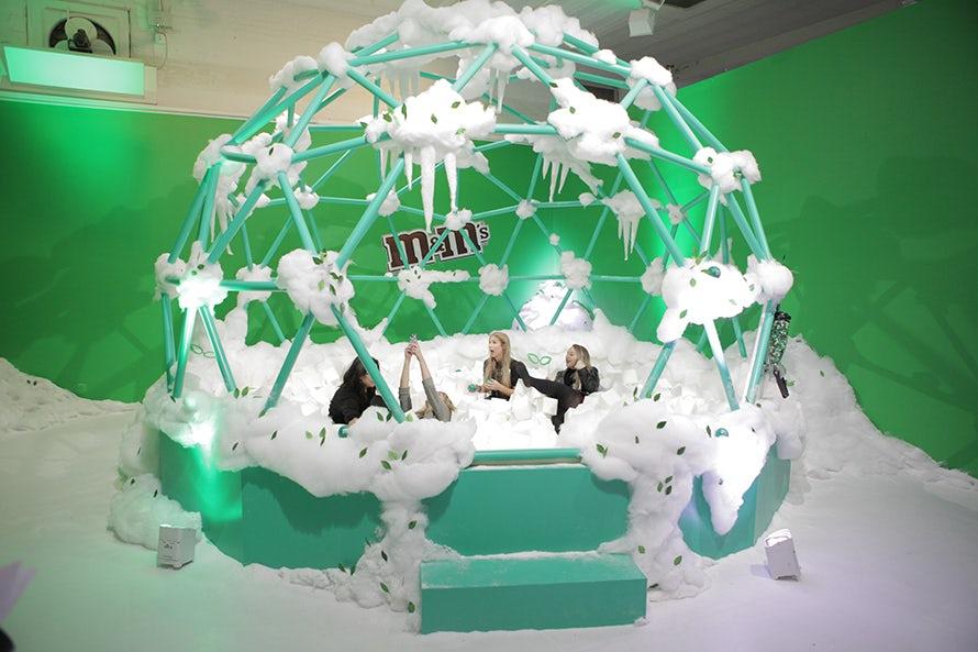 M&M's pop-up shop