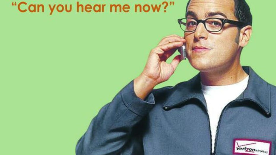 """""""Can you hear me now?"""" ad"""