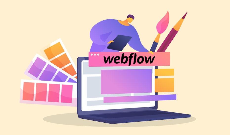 9 آموزش Webflow برای راهنمای مبتدیان برای ایجاد یک وب سایت