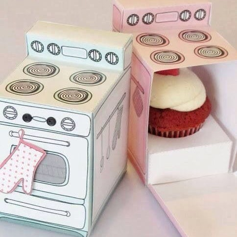 Cupcake oven packaging