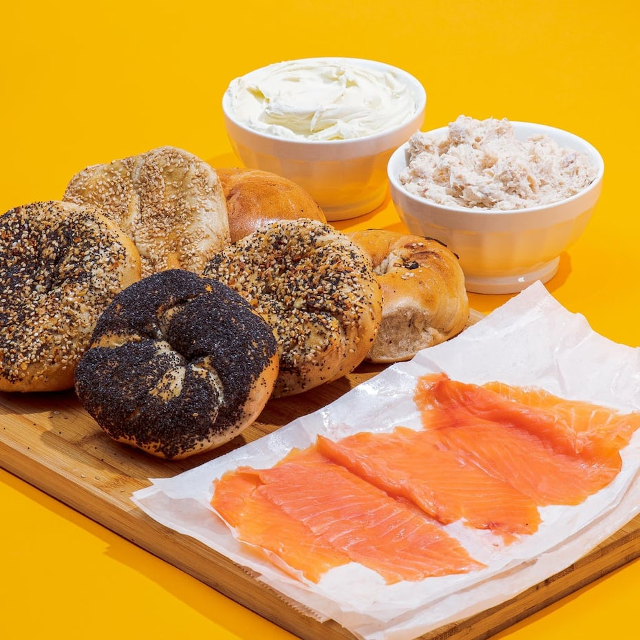 New York bagels from Goldbelly
