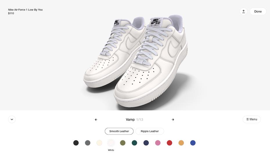 Nike customization