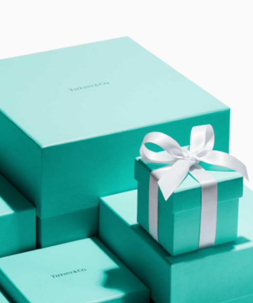 collection of Tiffany blue packages
