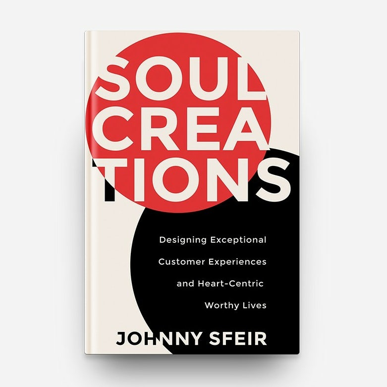 Black, white and red book cover with prominent text