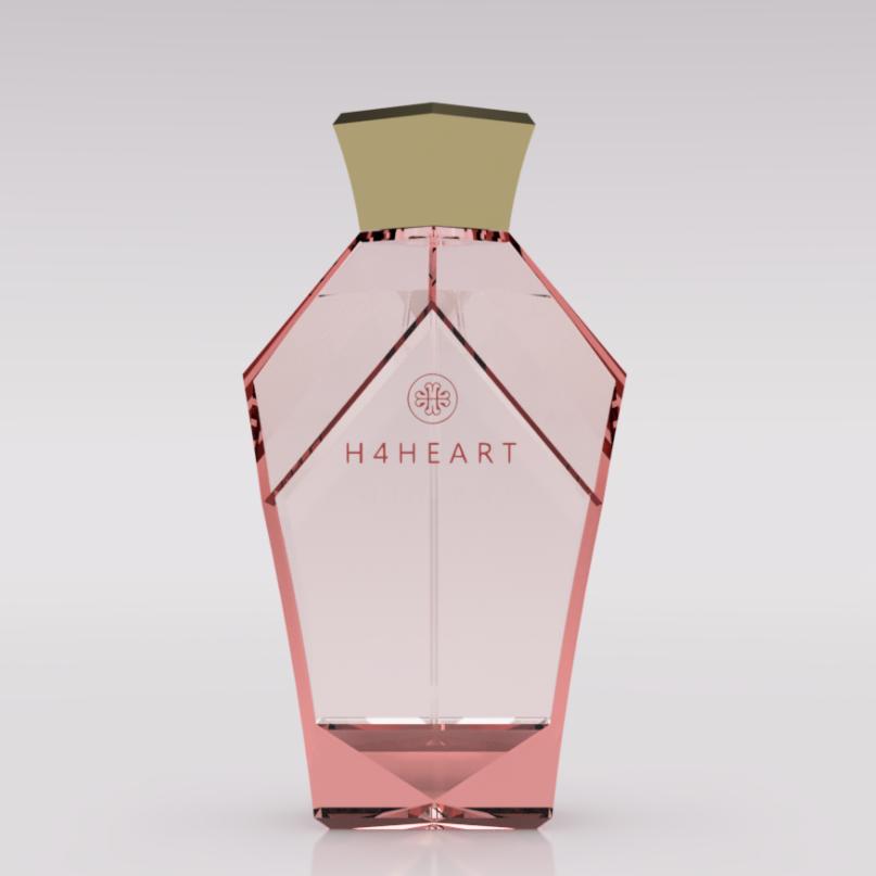3D perfume bottle design