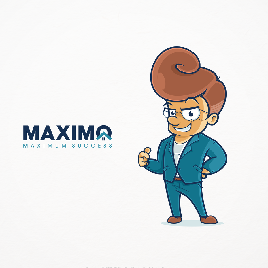 Character design of real estate agent