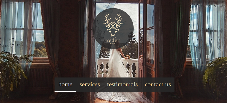wedding agency website