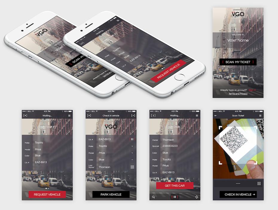 visually appealing UI design