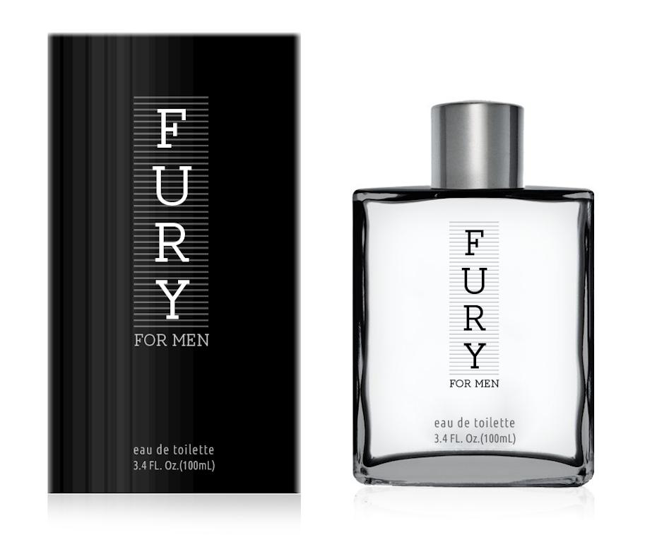 Typography logo design wordmark for perfume brand