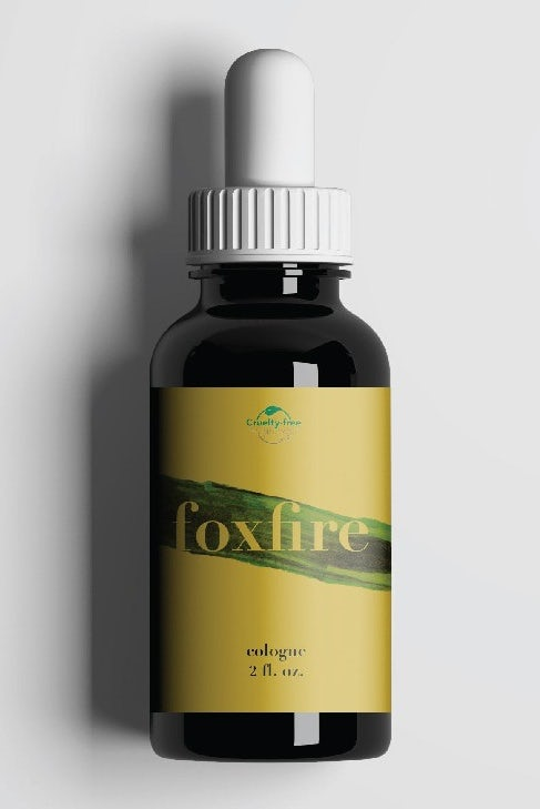 Label design for vegan cologne brand