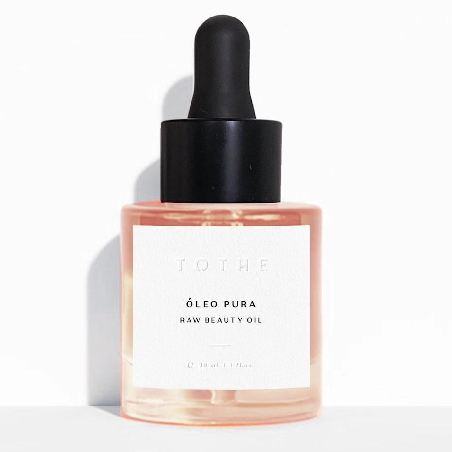 Beauty label design