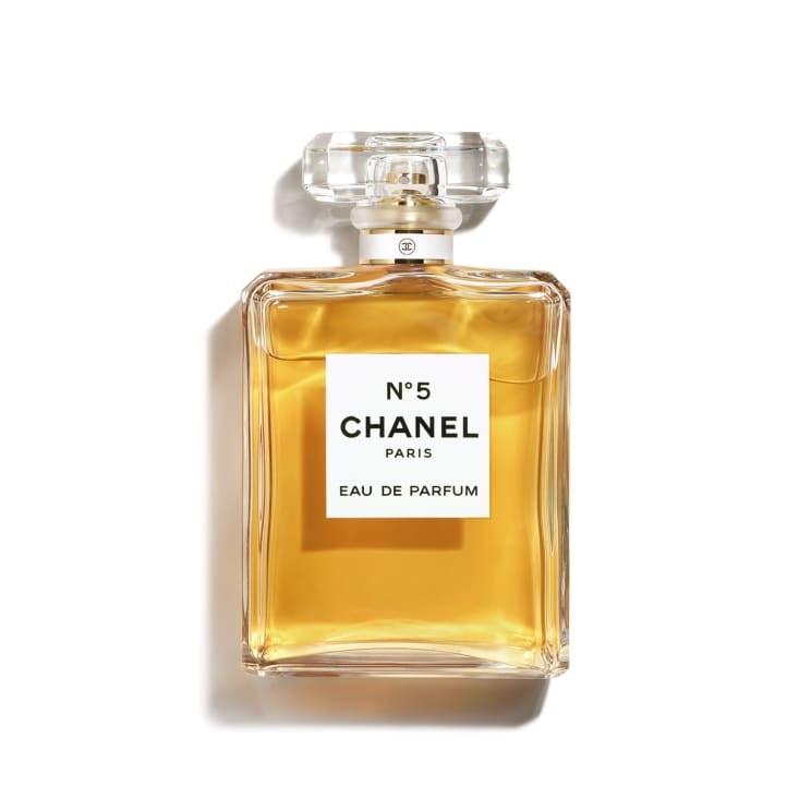 Photo of Chanel No. 5 perfume bottle