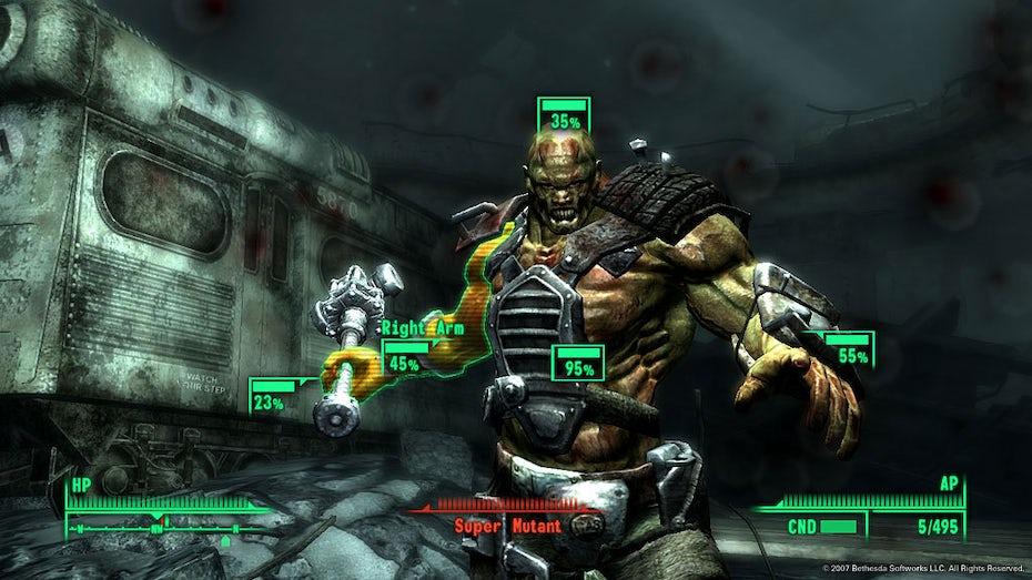 Screenshot of Fallout 3 gameplay