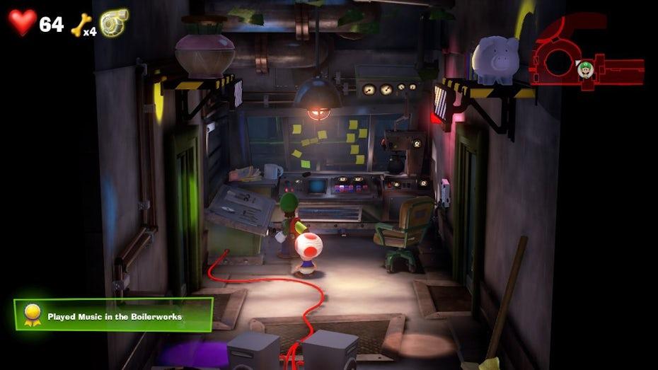 Luigi's Mansion 3 gameplay screenshot