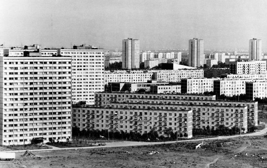 Khrushchyovka tenement apartments