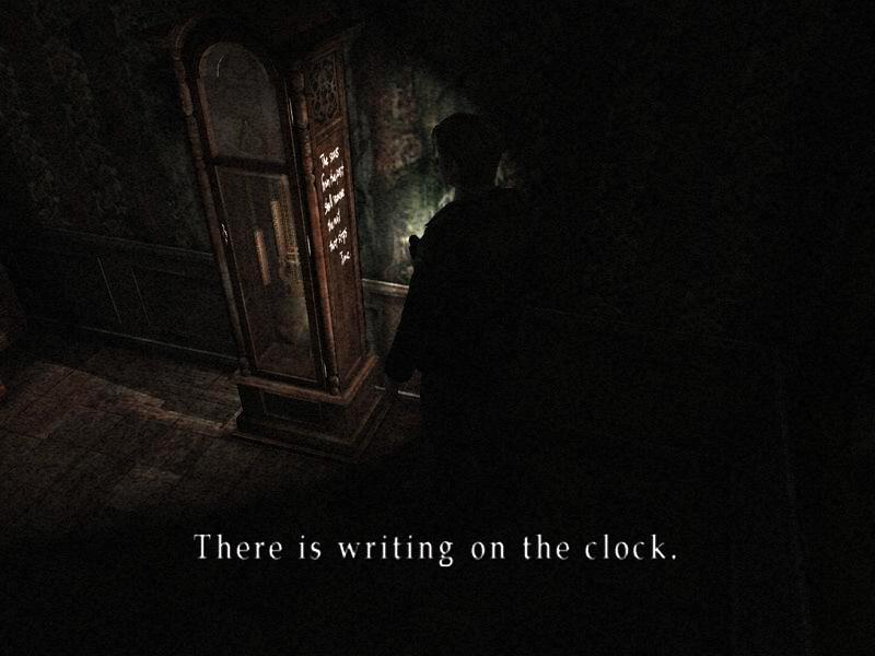 Silent Hill 2 gameplay screenshot