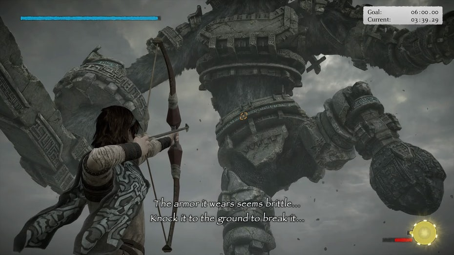 Shadow of the Colossus gameplay screenshot