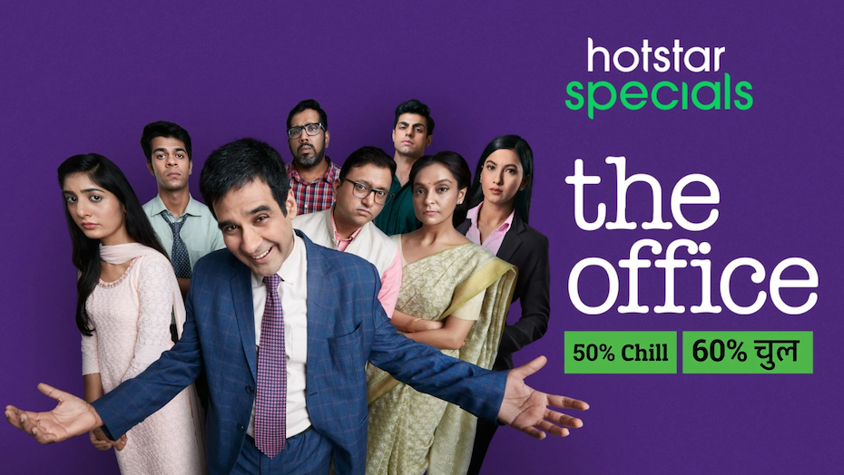 title card and photo for The Office India versio