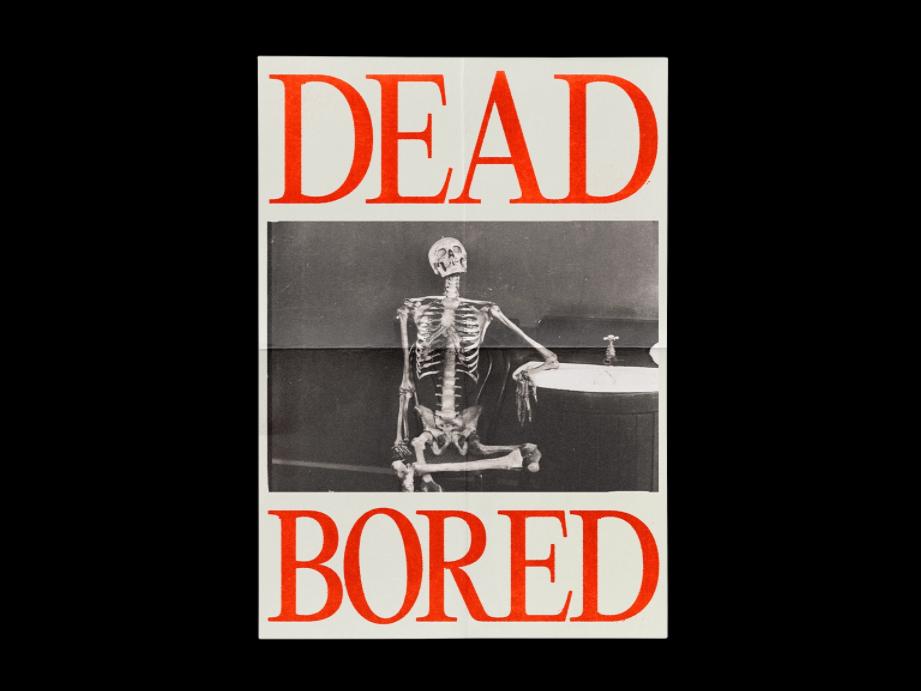 Brutalist poster design