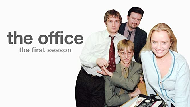 title card and photo for The Office UK versio