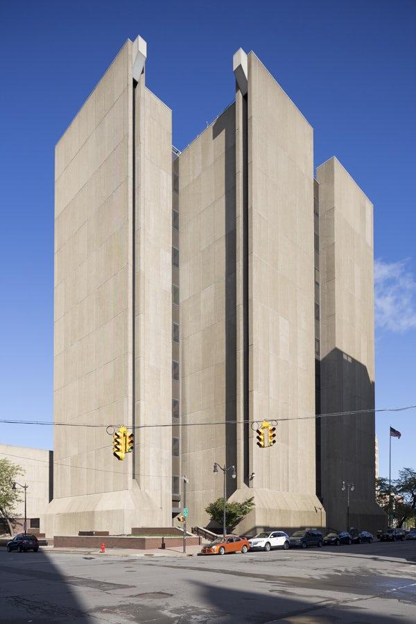 Buffalo City Court building