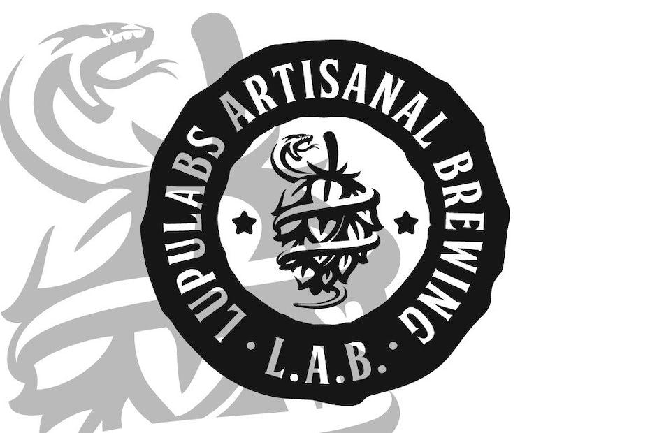 Logo design for brewery brand