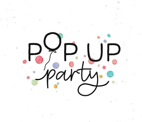 Logo design for party decor brand