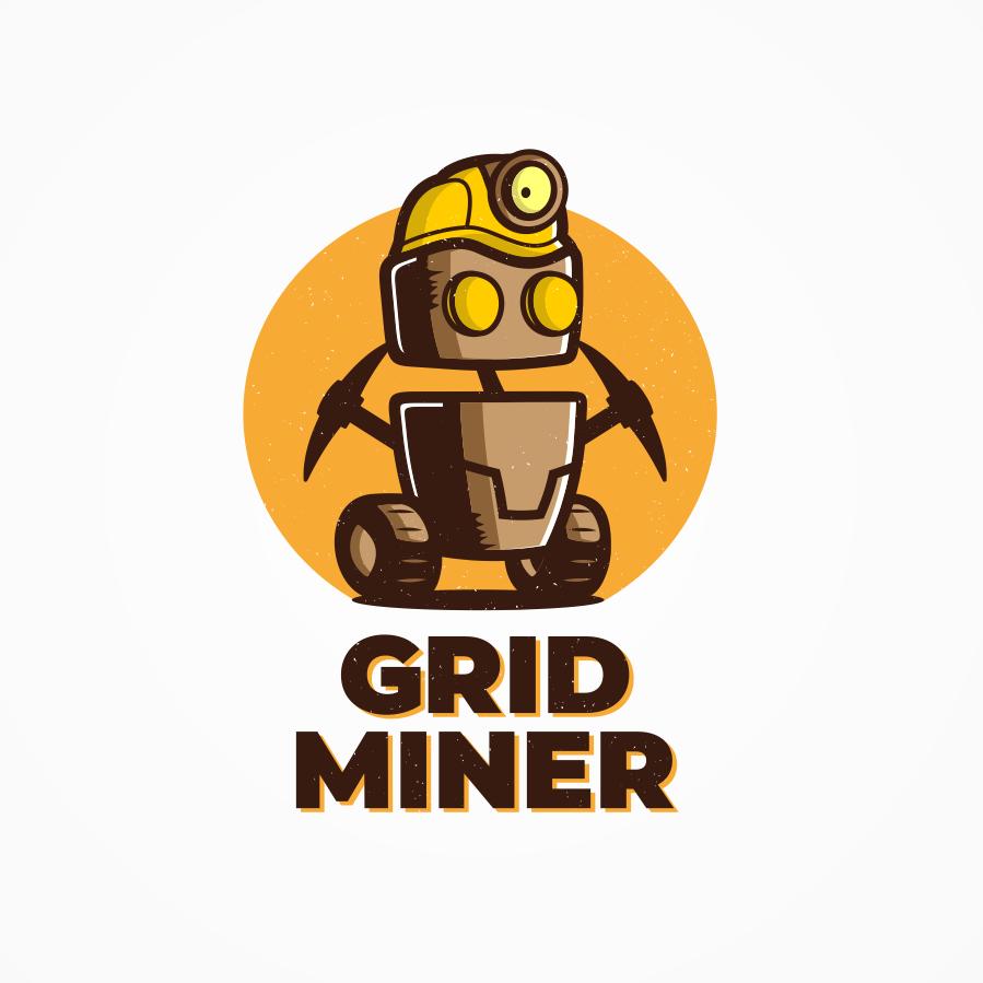Mascot logo design for app