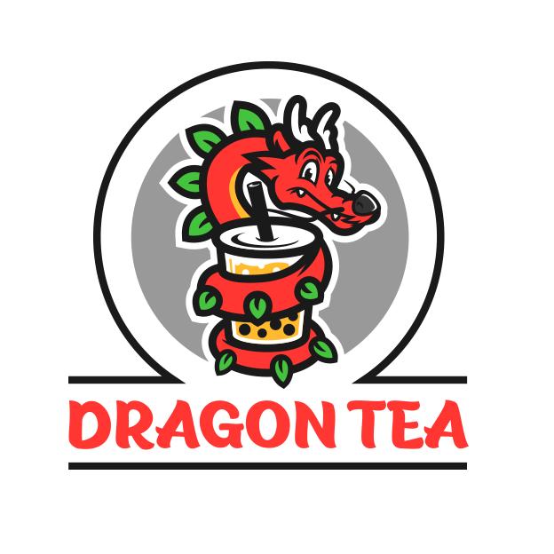 Logo design for bubble tea brand