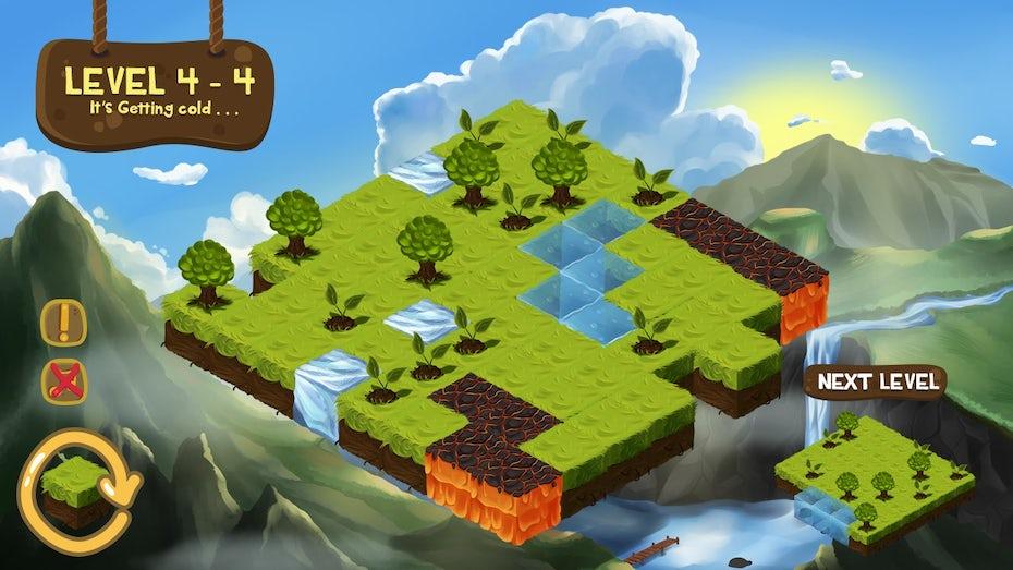 Mobile game UI design