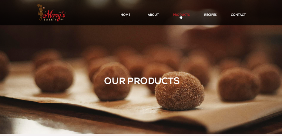 brown and white cookie website