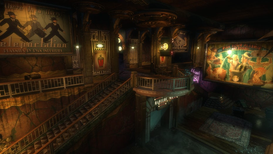 Bioshock environment in-game screenshot
