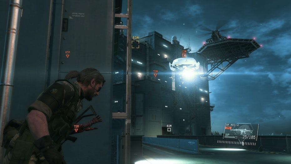 Metal Gear Solid 5 gameplay screenshot