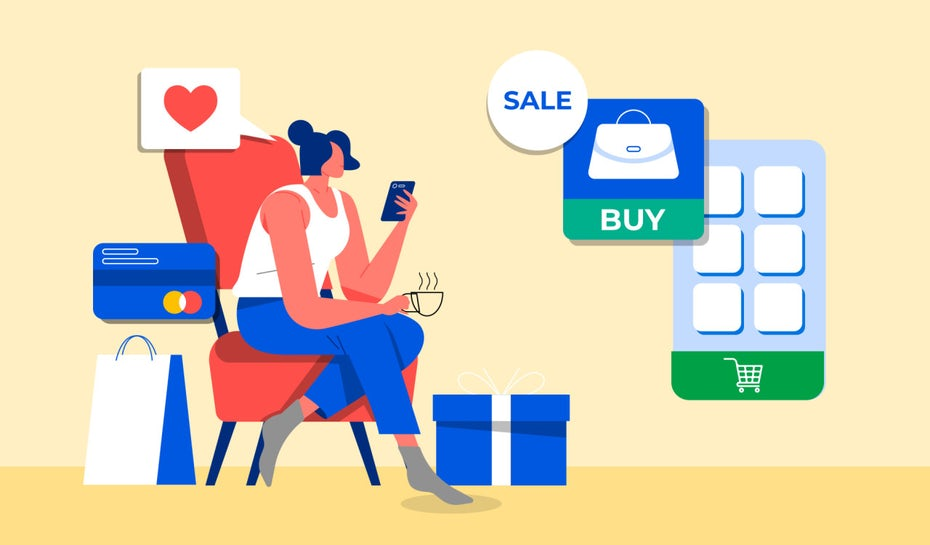 illustrative answer to what is ecommerce