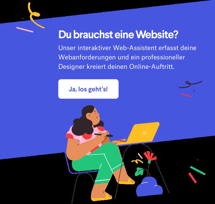 web onboarder illustration DE