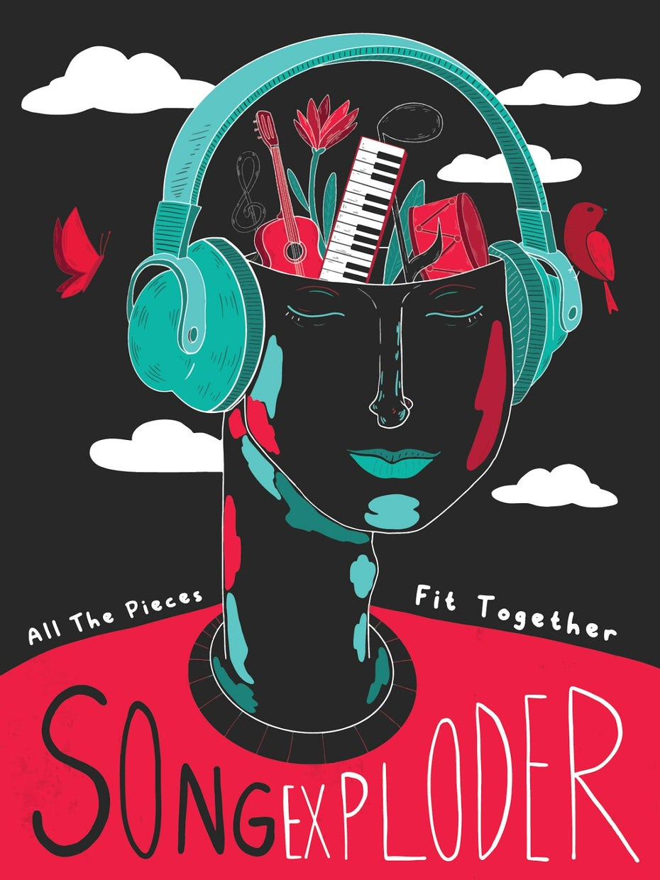 """Final Song Exploder poster by <a href=""""/profiles/3211854"""">Jen Se</a>"""