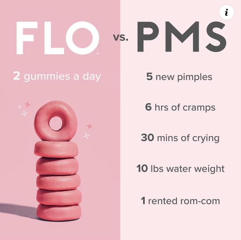 imagery for menstrual health brand