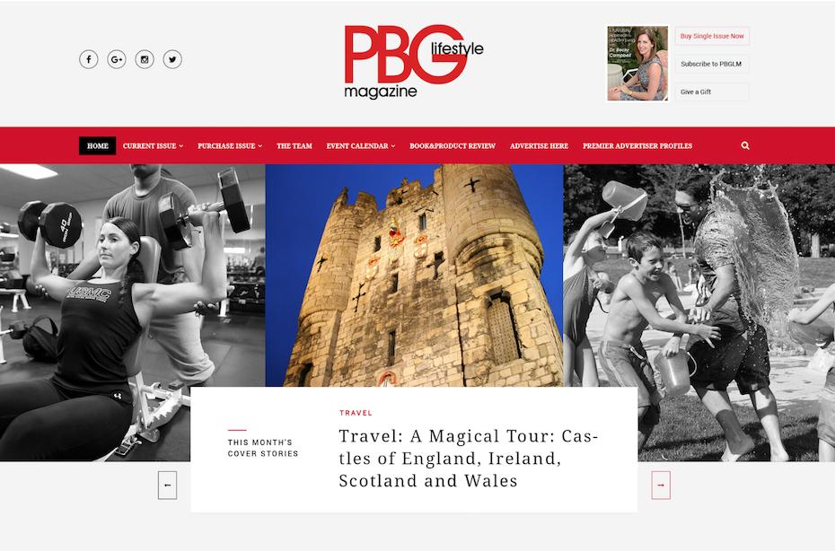 Travell blog design