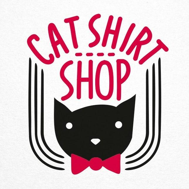cat shirt shop logo